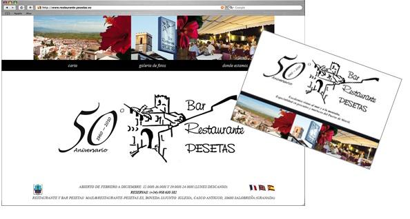 Restaurant El Pesetas: Corporate identity