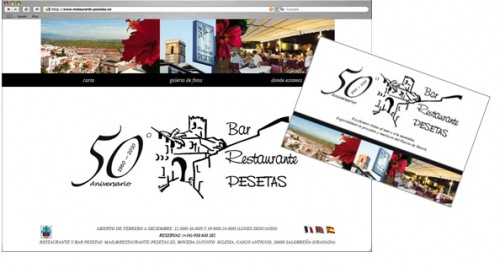 Restaurant El Pesetas: Corporate identity